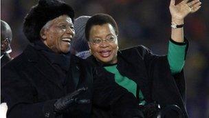 Nelson Mandela a Graça Machel