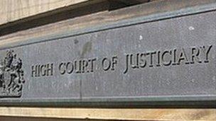 High Court sign