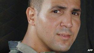 Solider Imad Ibn Ziaten, shot dead in March 2012 by Islamist Mohamed Merah