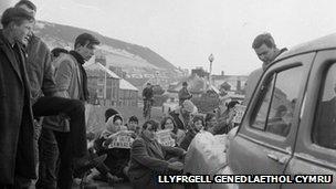 Protest Pont Trefechan 1963