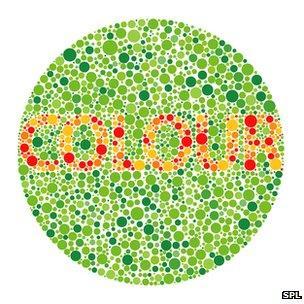 Colour blindness test