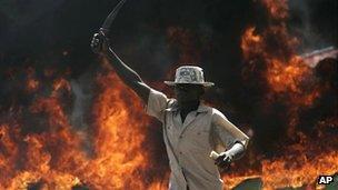 Man wielding knife in 2007 violence