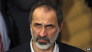 Moaz al-Khatib (file photo)
