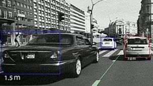 Car sensor technology