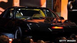 KITT, the car from Knight Rider