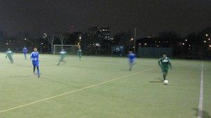 Bangladeshi players in east London