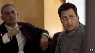 Deyan Deyanov in court