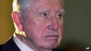 Augusto Pinochet. Photo: August 2000