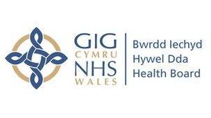 Logo Bwrdd Iechyd Hywel Dda
