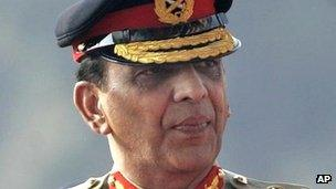 Army Chief Gen Ashfaq Kayani (file image from 2007)