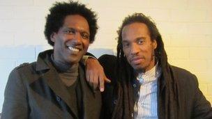 Lemn Sissay (left) and Benjamin Zephaniah
