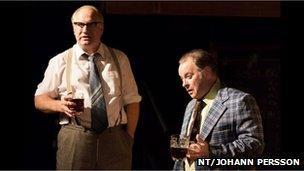 Rupert Vansittart and Tony Turner