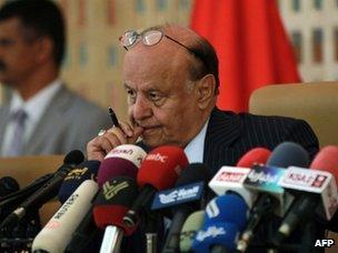 Abdrabbuh Mansour Hadi (file)