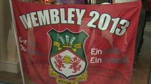 Wrexham flag