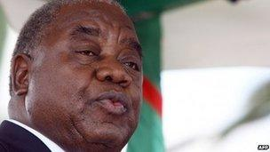 Zambia's ex-President Rupiah Banda