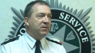 Chief Constable Matt Baggott, PSNI