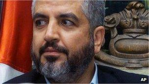 Khaled Meshaal (file image)