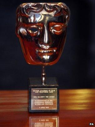 Bafta awarded to the Queen