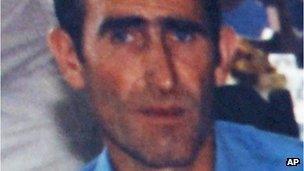 Ljubisa Bogdanovic, who police say shot dead 13 people in a Serbian village