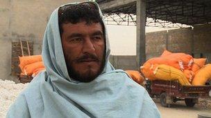 Hamidullah farms opium in Helmand