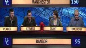Bangor ar University Challenge