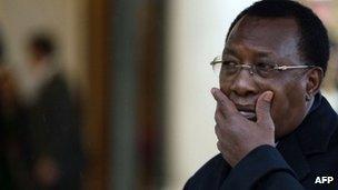 President Idriss Deby in December 2013