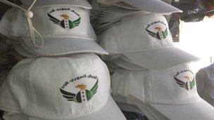 Free Syrian Army hats