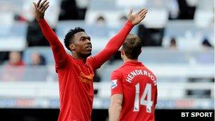Liverpool player Daniel Sturridge