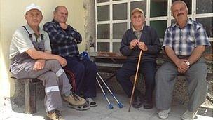 Villagers in Ablanitsa