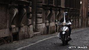Alleyway in Rome