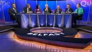 John O'Dowd was one of a number of guests to appear on the programme