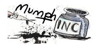 Arddangosfa 'Mumph'