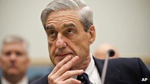 FBI Director Robert Mueller, 13 June 2013