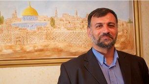Anwar Zaboun, PLC member for Hamas