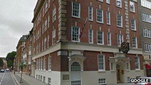 Royal College of Veterinary Surgeons, London