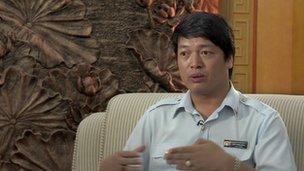 Ngo Manh Hung, deputy director-general of Vietnam's Anti-Corruption Bureau