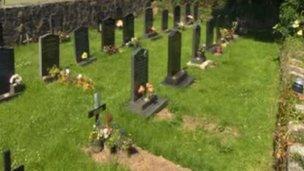 Mynwent Eglwys Llaniestyn