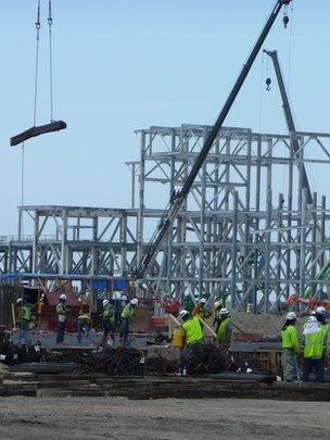 Oilfield new build