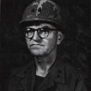 General Julian Ewell, commander of the US 9th Infantry Division