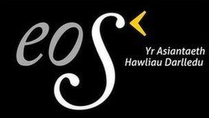 Logo asiantaeth Eos