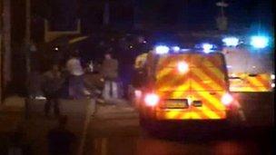 Police CCTV camera, Norwich