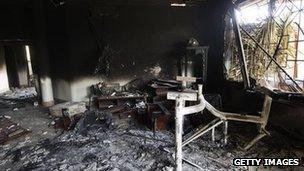 Inside the Benghazi consulate