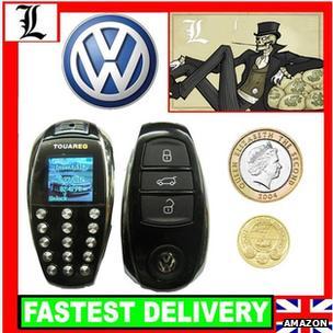 Key fob mobile phone
