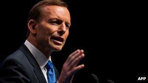 Tony Abbott, pictured August 2013