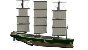 B9 concept hybrid transport ship