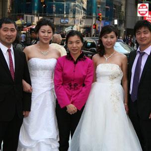 Gong Haiyan in NY for Nasdaq launch
