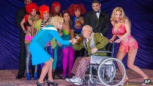 A scene from Anna Nicole at the Brooklyn Academy of Music