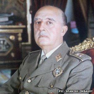 Gen Franco, in 1969