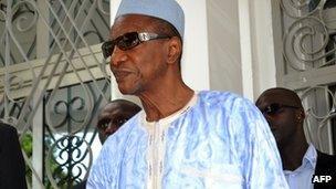 Guinean President Alpha Conde