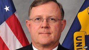Navy Vice Admiral Tim Giardina